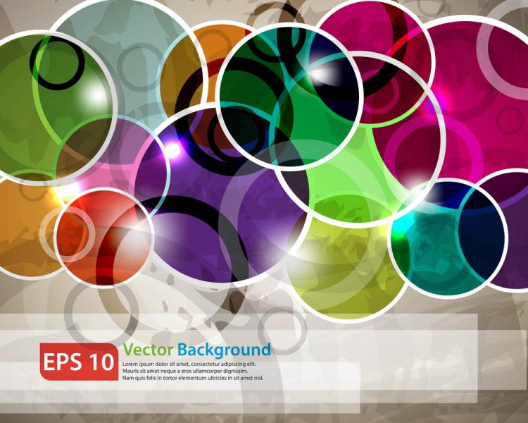 free vector Beautiful bright stars background 05 vector