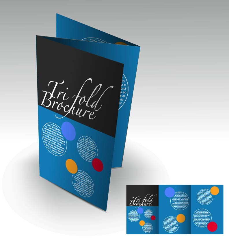 free vector Beautiful brochures and leaflets 03 vector