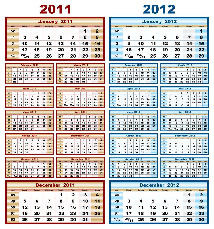 free vector Beautiful calendar 20112012