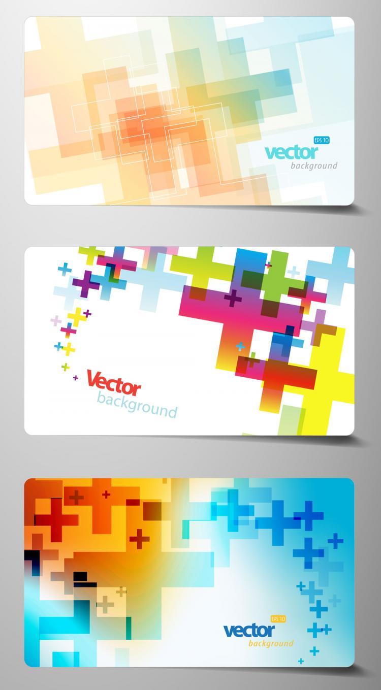 free vector Beautiful card 03 vector