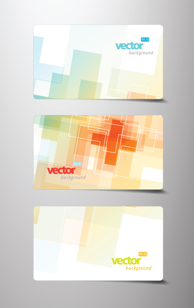 free vector Beautiful card template 02 vector