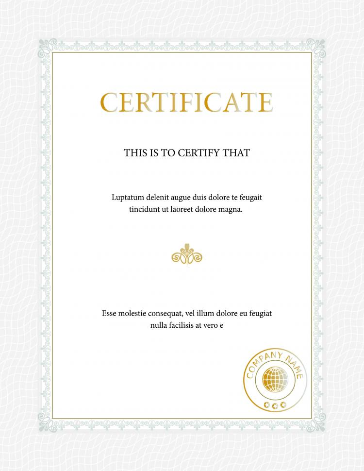 Beautiful certificate template vector free vector 4vector beautiful certificate template vector free vector xflitez Gallery