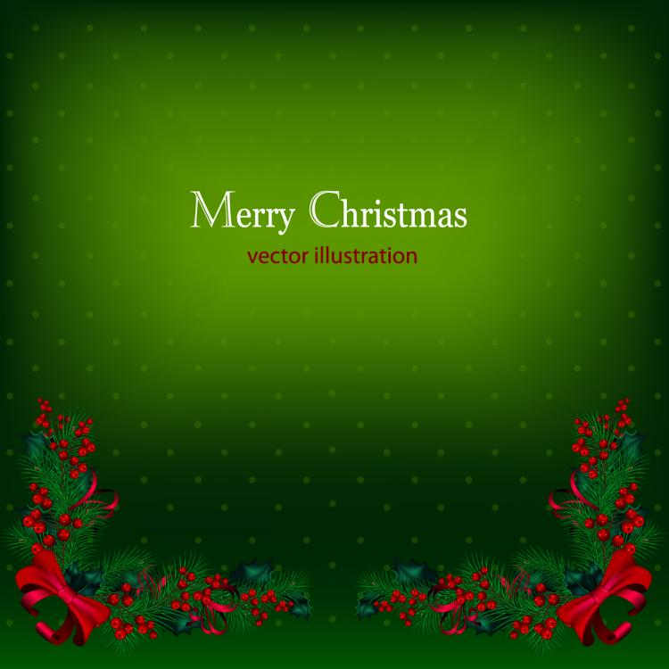 free vector Beautiful christmas background 01 vector