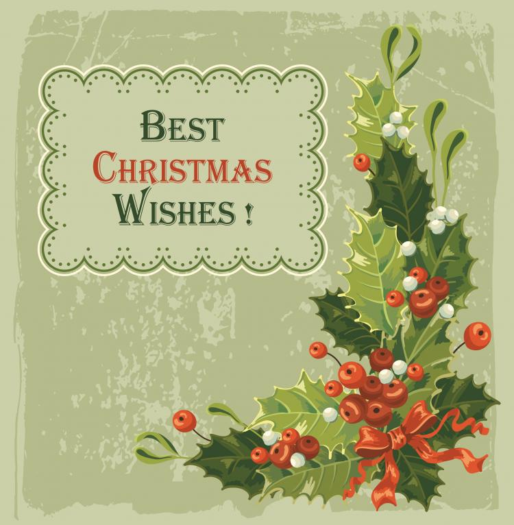 free vector Beautiful christmas background 02 vector