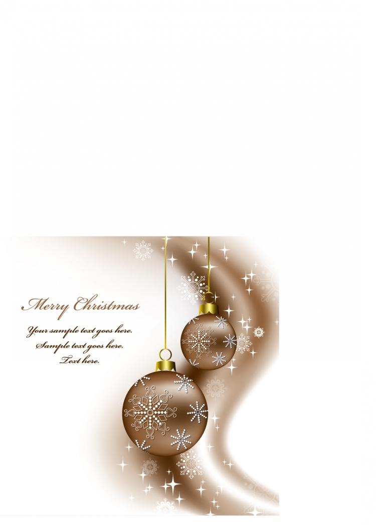 free vector Beautiful christmas background vector 17758