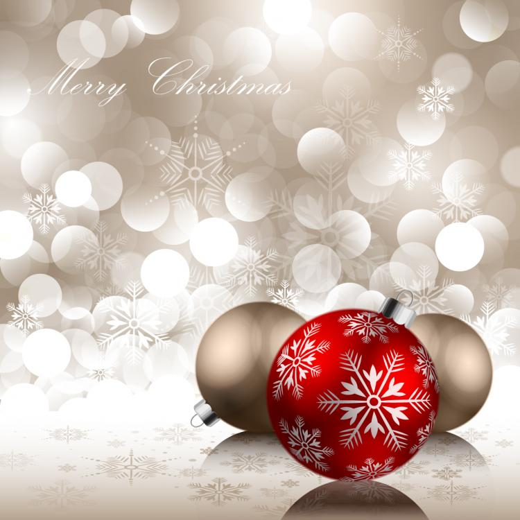 beautiful christmas ball  25302  free eps download    4 vector