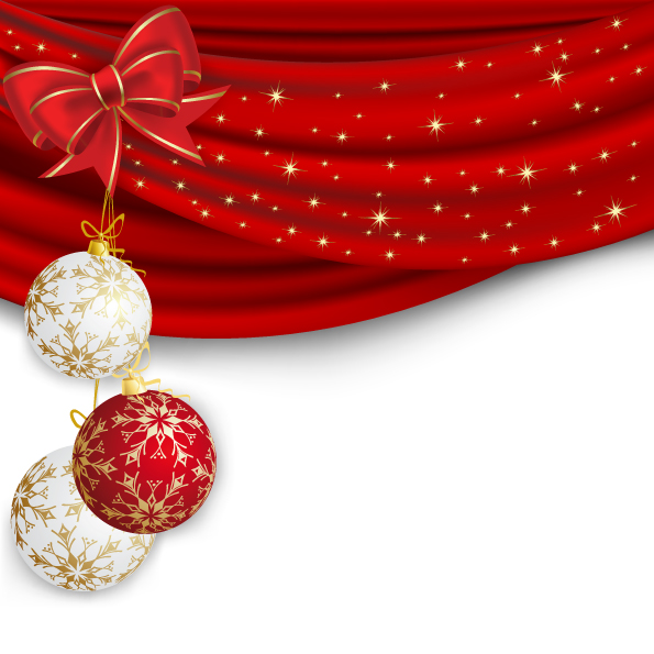 free vector Beautiful christmas ball 11 vector