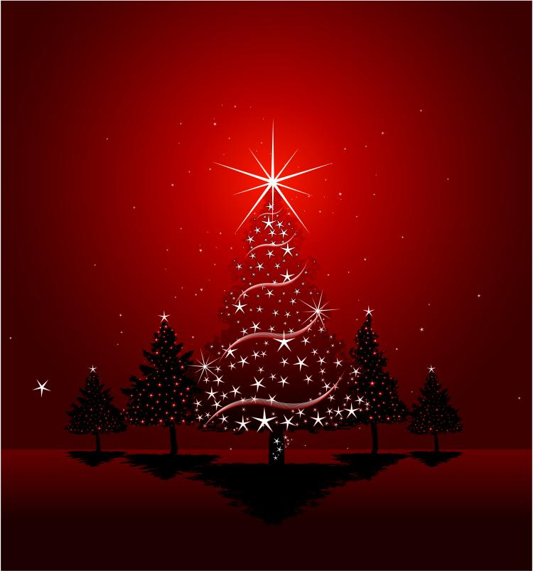 red christmas background ai - photo #31