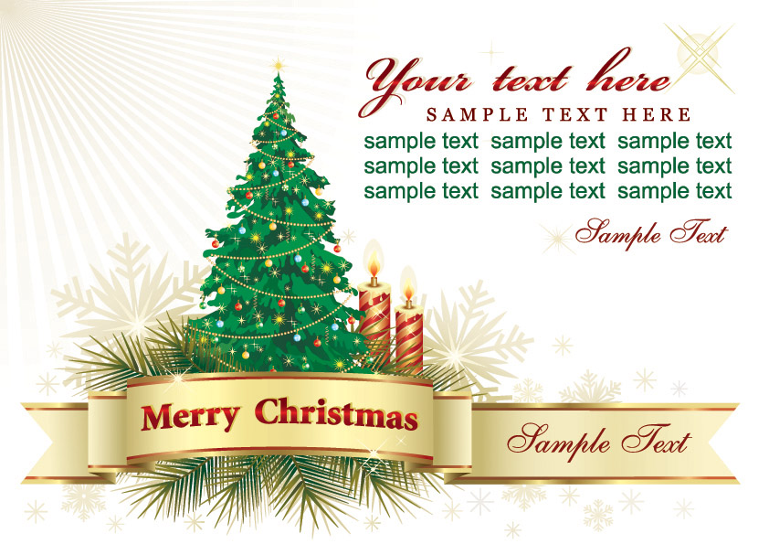 Beautiful christmas greeting card background vector free vector free vector beautiful christmas greeting card background vector m4hsunfo