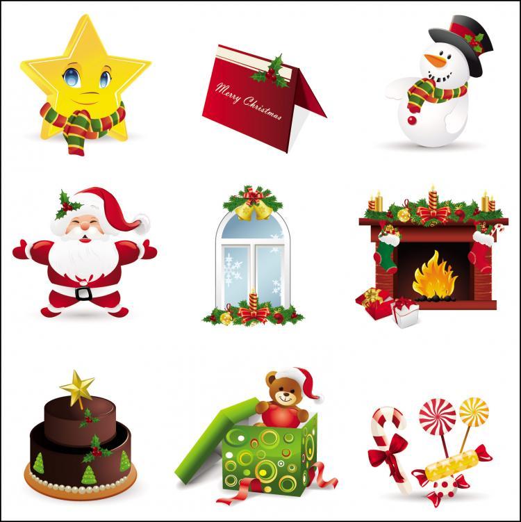 free vector Beautiful christmas ornament vector