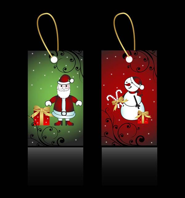 free vector Beautiful christmas ornaments vector