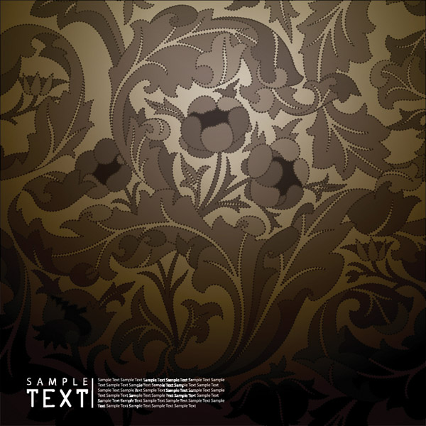 free vector Beautiful Classical Pattern Vector Material European Classic Ornate