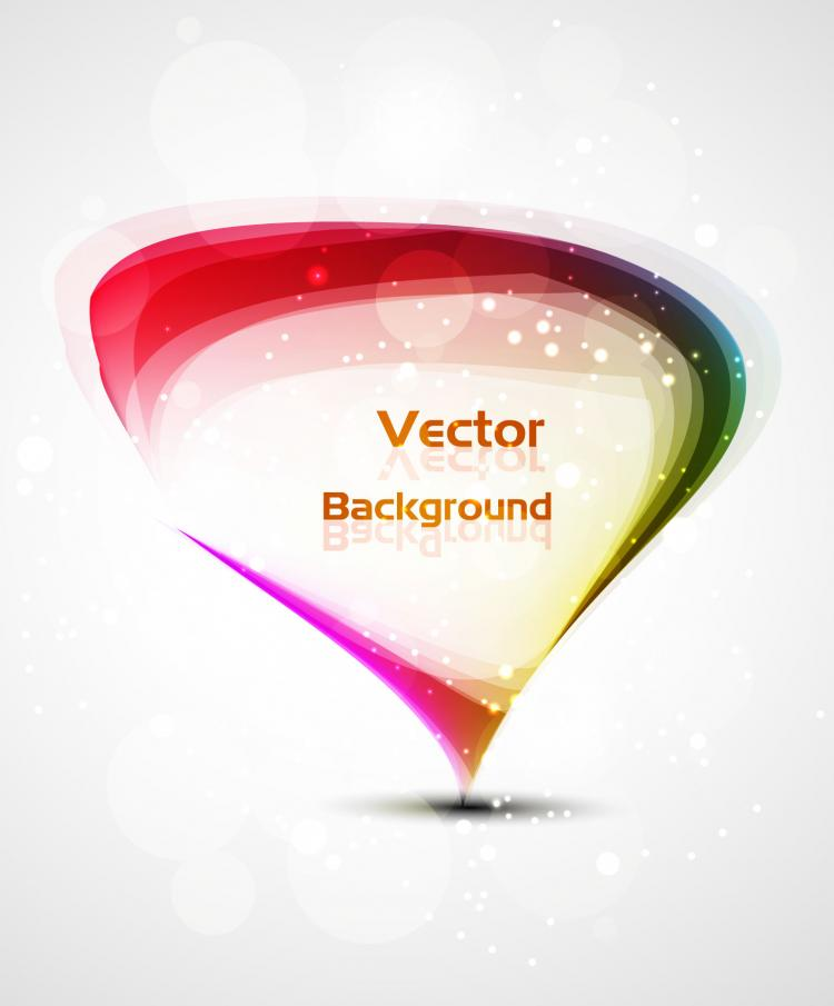 free vector Beautiful colorful halo background 02 vector