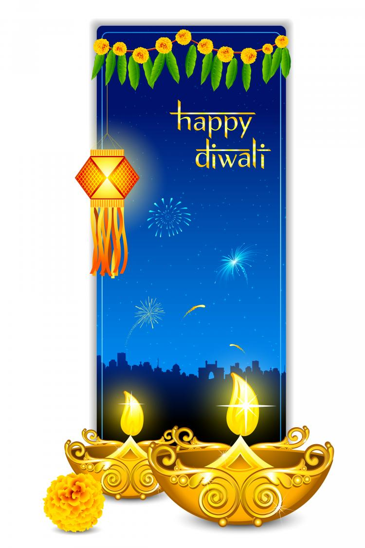 Vector free vectors download 4vector beautiful diwali cards 07 vector m4hsunfo