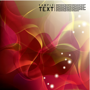 free vector Beautiful dynamic background vector