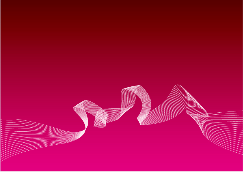 free vector Beautiful dynamic lines of vector dream