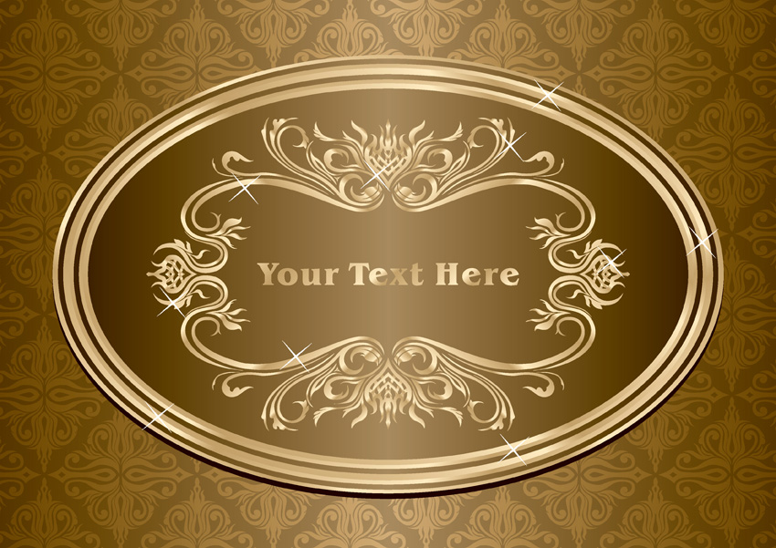 free vector Beautiful europeanstyle lace pattern vector