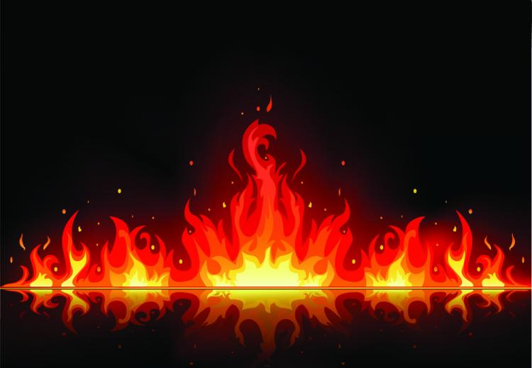 free vector Beautiful flame vector clip 03