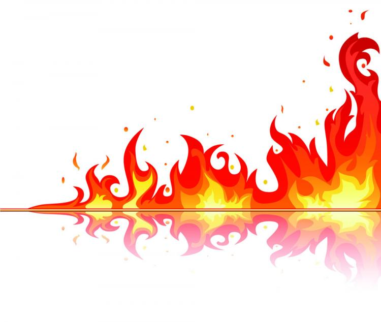 free vector Beautiful flame vector clip 04