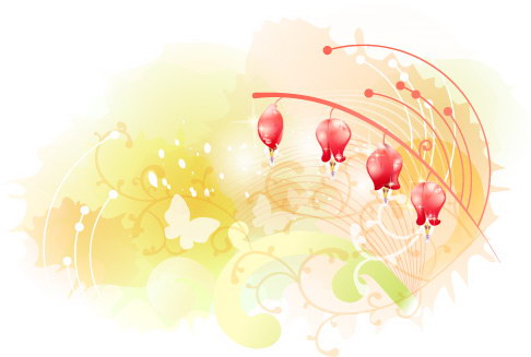 free vector Beautiful floral pattern vector series 3 series 10p