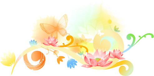 free vector Beautiful floral pattern vector series series 2 10p