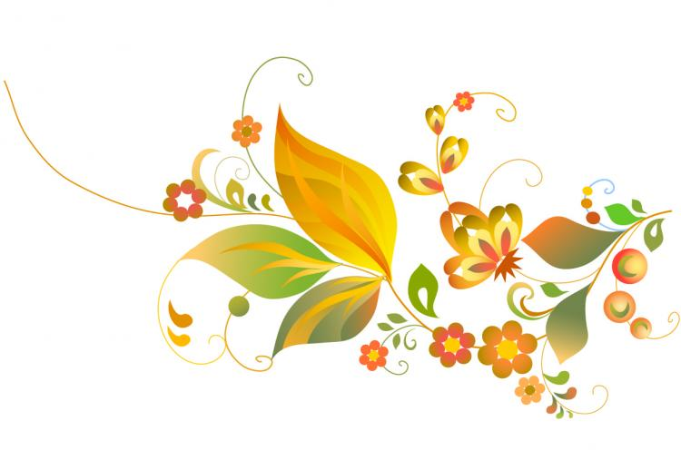 free vector Beautiful flower pattern vector