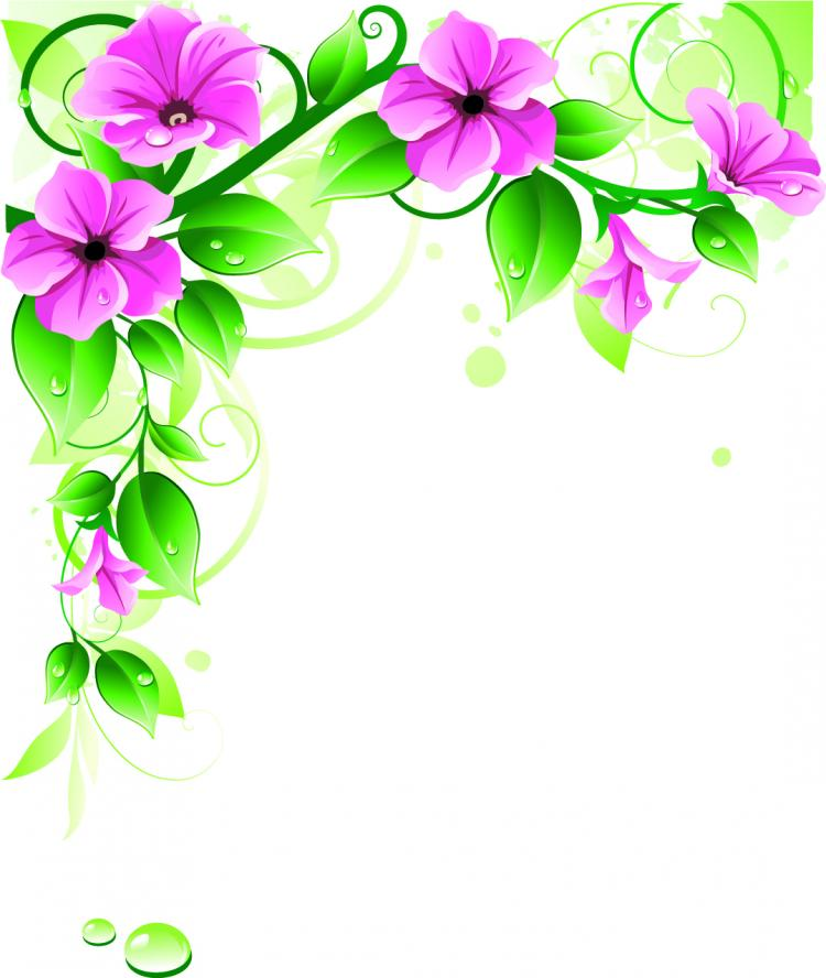 free vector Beautiful flowers 03 vector