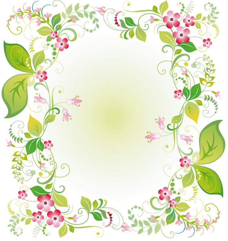 free vector Beautiful flowers and lace 03 vector