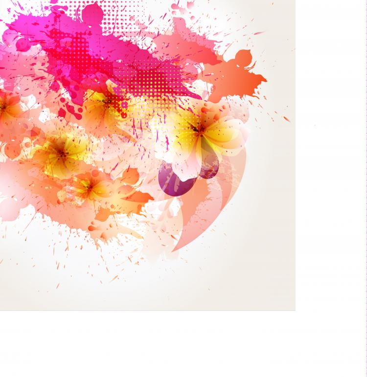 free vector Beautiful flowers background 03 vector