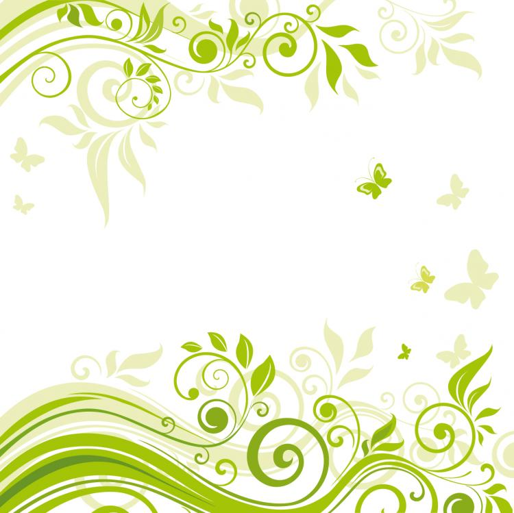 Beautiful Flowers Illustration Background 02 Vector Free Vector