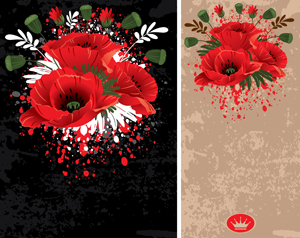 free vector Beautiful flowers vector 20995