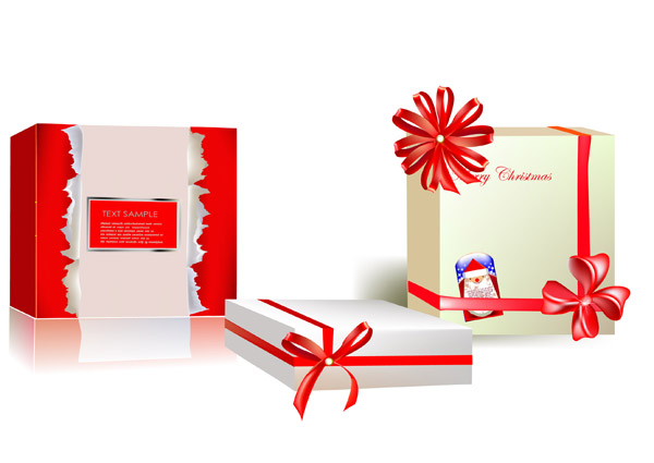 Beautiful gift box vector free vector 4vector free vector beautiful gift box vector negle Images