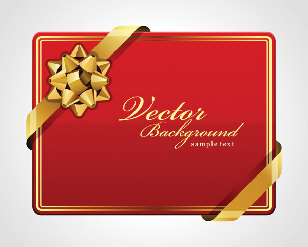 free vector Beautiful holiday card vector