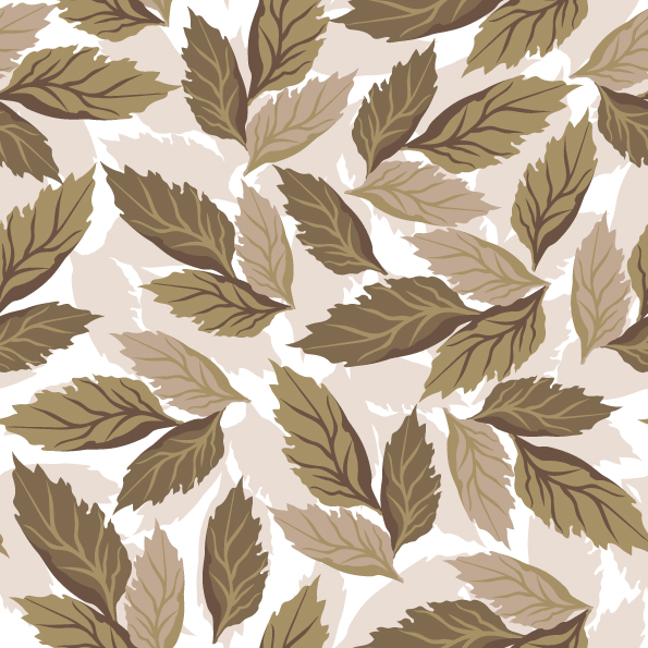 free vector Beautiful leaves background vector