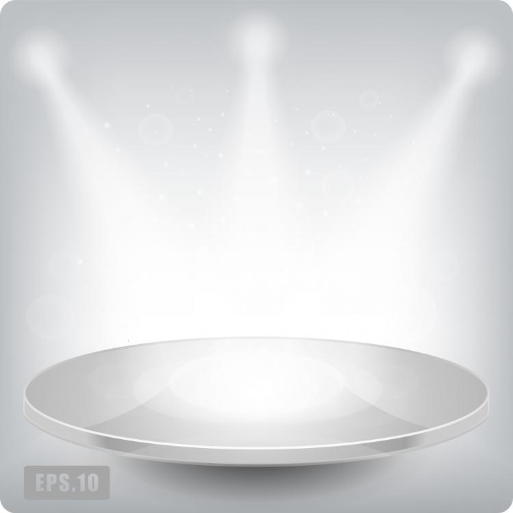 free vector Beautiful lighting 02 vector