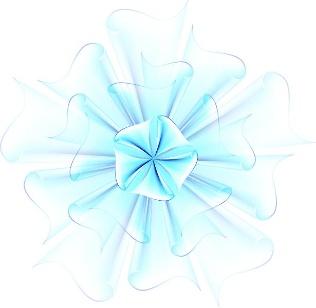 free vector Beautiful paper flowers 03 vector