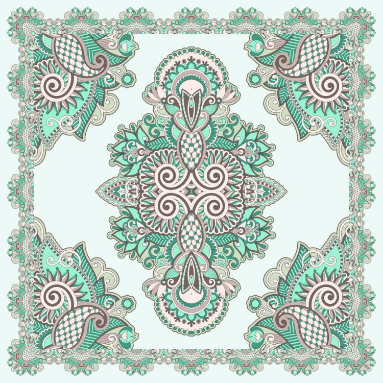free vector Beautiful pattern background 01 vector