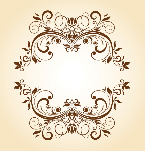 free vector Beautiful pattern vector