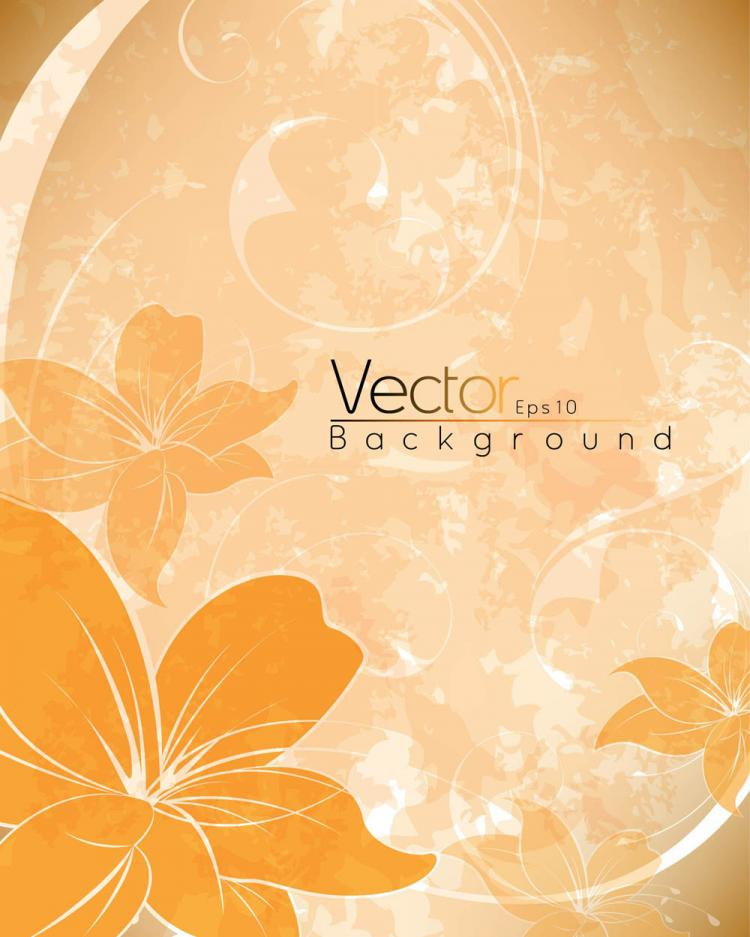 free vector Beautiful posters 02 vector