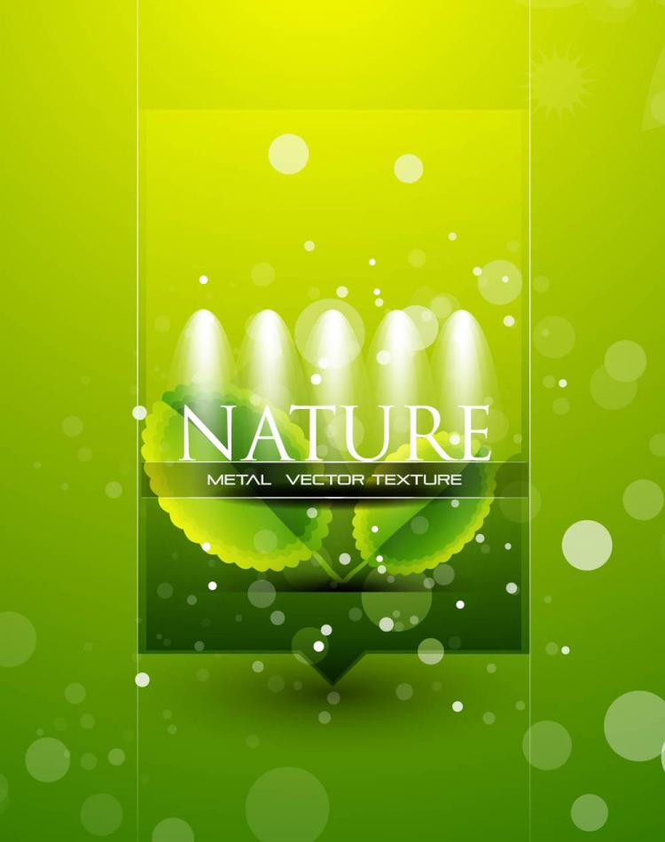 free vector Beautiful posters 03 vector