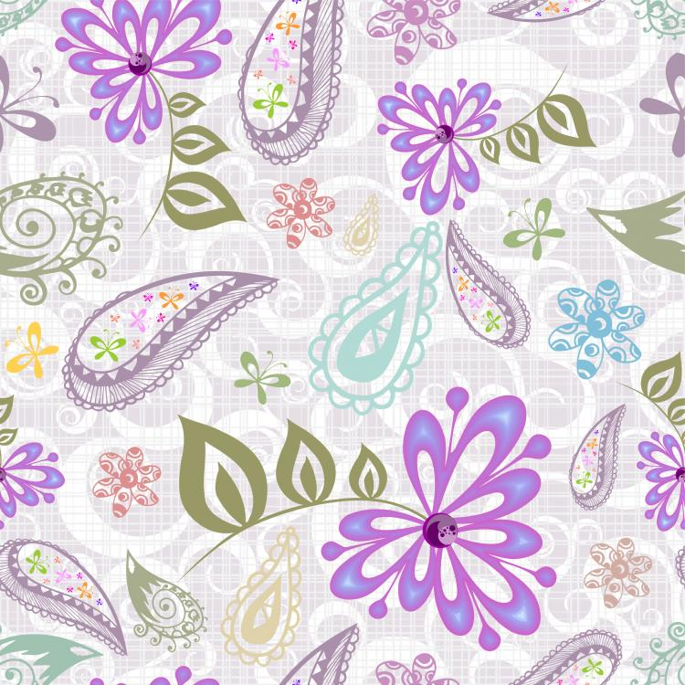 free vector Beautiful purple background pattern vector