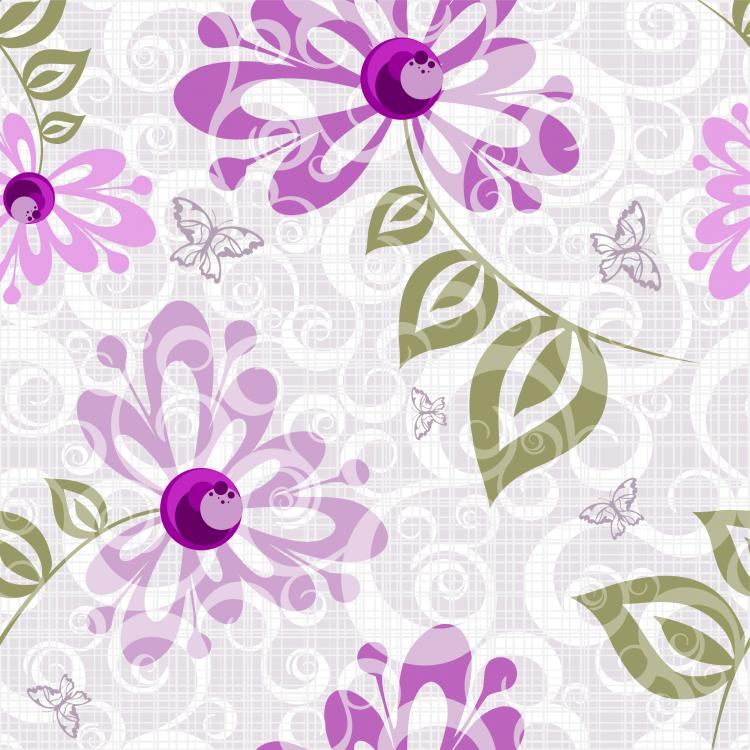 pretty purple wallpaper patterns