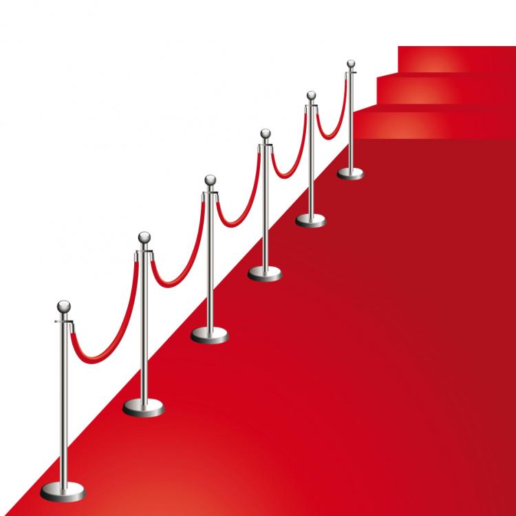 Beautiful Red Carpet Vector Free 4Vector