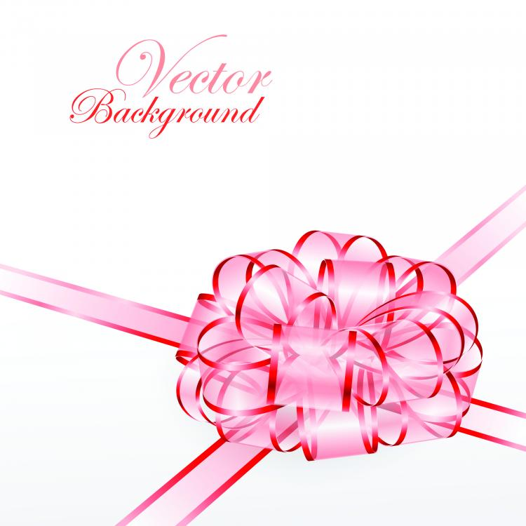free vector Beautiful ribbon bow 04 vector