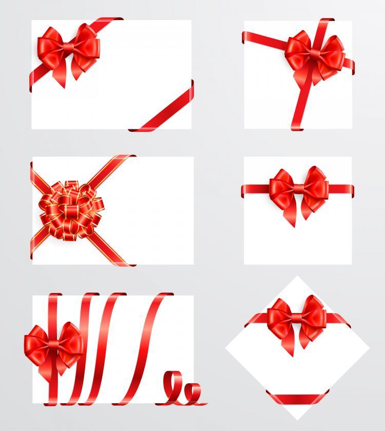 free vector Beautiful ribbon bow 05 vector