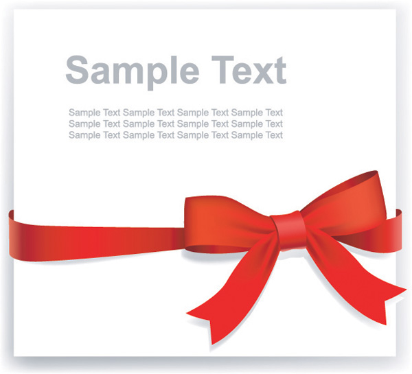 free ribbon vector