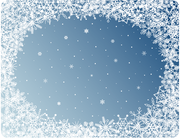 snowflake powerpoint background