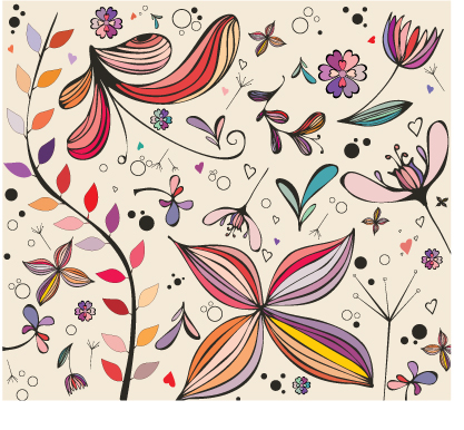 free vector Beautiful traditional pattern pattern vector