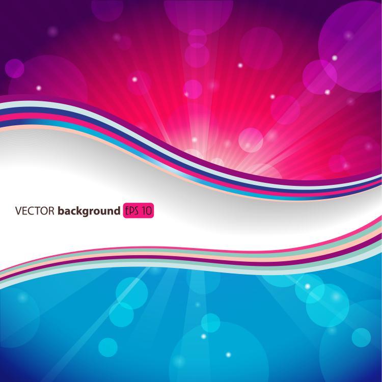 Beautiful trend background 01 vector free vector 4vector for Trending wallpaper