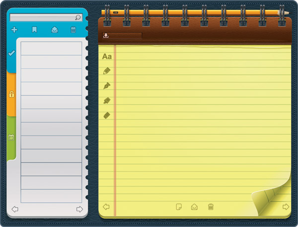 free vector Beautiful vector 4 notepad